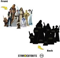 Star Wars Pappaufsteller (Stand Up) - Heroes (9...