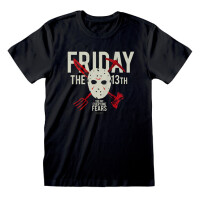 Friday the 13th T-Shirt - The Day Everyone Dies (schwarz)