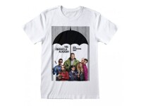 Umbrella Academy T-Shirt - Poster Art (weiß)