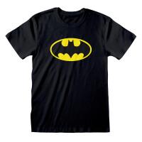 Batman T-Shirt - Classic Bat Logo (schwarz)