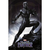 Marvel Comics Poster: Black Panther Stance