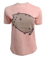 Pusheen Damen T-Shirt (Girlie): Pusheen rolls
