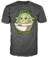 Star Wars T-Shirt - The Mandalorian Baby Yoda Child On...
