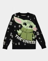 Star Wars The Mandalorian Pullover im Weihnachtslook -...