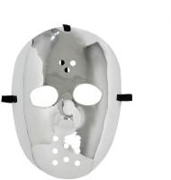 Jason Hockey-Maske silber
