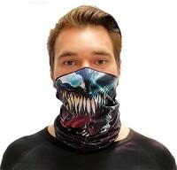 Loop Schal Alien Face