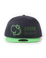 Super Mario Baseball Cap Snapback - Yoshi Dots Face...