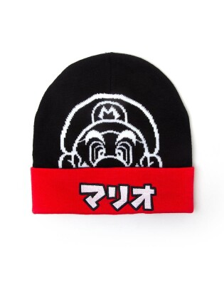 Nintendo Super Mario Brothers Beanie Wollmütze - Mario Japanese