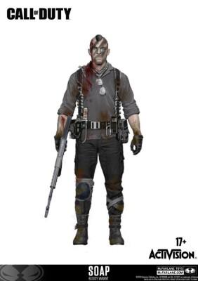 Call of Duty Actionfigur: John Soap MacTavish Variant Exclusive (15 cm)
