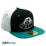 Rick & Morty Baseball Cap Snapback - Spaceship (schwarz/blau)