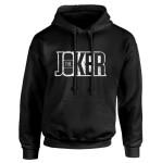 Joker Kapuzenpullover : Logo (schwarz) S