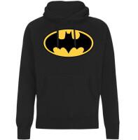 Batman Kapuzenpullover : Classic Logo (schwarz)