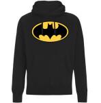 Batman Kapuzenpullover : Classic Logo (schwarz) L