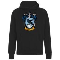 Harry Potter Kapuzenpullover : Ravenclaw Crest (schwarz)