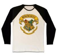 Harry PotterT-Shirt (Raglan) : Hogwarts Crest...