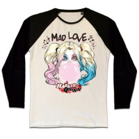 Batman Baseball T-Shirt (Raglan) : Harley Bubble Gum...