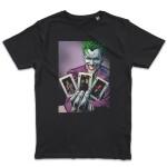 Batman T-Shirt - Joker Flash Cards (schwarz) M