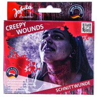 Wundenset Creepy Wounds Schnittwunde