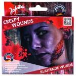 Wundenset Creepy Wounds Klaffende Wunde