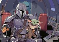Star Wars The Mandalorian Puzzle Cartoon (1000 Teile)