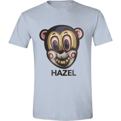 Umbrella Academy T-Shirt - Hazel Mask (hellblau)  S