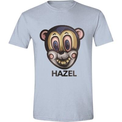 Umbrella Academy T-Shirt - Hazel Mask (hellblau)  L