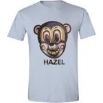 Umbrella Academy T-Shirt - Hazel Mask (hellblau)  XL