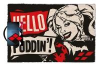 DC Comics Fußmatte Harley Quinn Hello Puddin