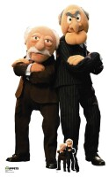 Muppets Pappaufsteller (Stand Up) - Statler and Waldorf...
