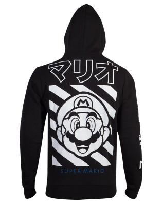 Nintendo Kapuzenjacke - Super Mario Japan (schwarz)