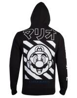 Nintendo Kapuzenjacke - Super Mario Japan (schwarz) M