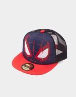 Marvel Baseball Cap Snapback - Spidey Face Trucker Style...