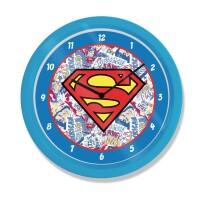 Superman Wanduhr Logo