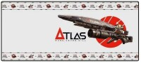 Borderlands 3 Oversize Mousepad: Atlas Rifle (80 x 35 cm)