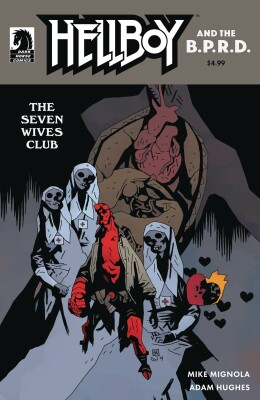 Hellboy & The Bprd The Seven Wives Club 1 Cover B Mignola