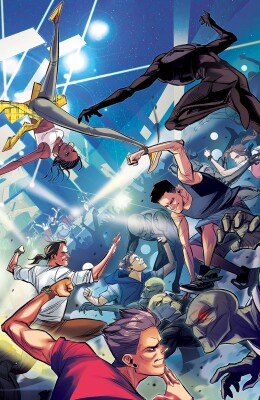 Mighty Morphin 2 Cover B Carlini Legacy Variant