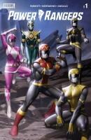 Power Rangers 1 Cover C Yoon