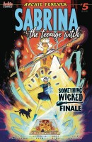 Sabrina Something Wicked 5 (Of 5) Cover A Veronica Fish