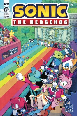 Sonic The Hedgehog 35 Cover A Hammerstrom