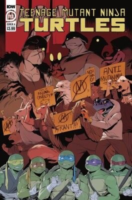 Tmnt Ongoing 112 (Vol. 5) Cover A Nishijima