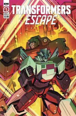 Transformers Escape 1 (Of 5) Cover A Mcguire-Smith