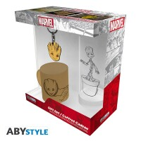 Marvel Comics Geschenkbox: Groot (Keramiktasse,...