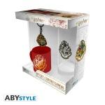 Harry Potter Geschenkbox: Hogwarts (Keramiktasse, Trinkglas, Schlüsselanhänger)
