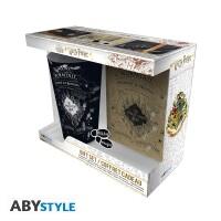 Harry Potter Geschenkbox: Marauders Map (Trinkglas,...