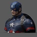 Captain America Spardose Marvel Deluxe (17 cm)