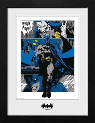 Batman Collector Print Poster im Rahmen Panels (41 x 30cm)