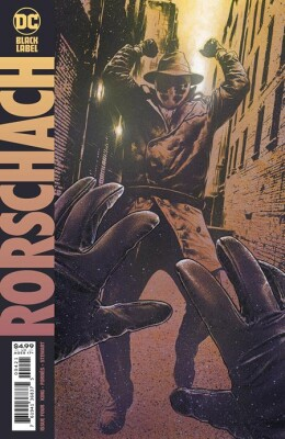 Rorschach 4 (Of 12) Cover B Travis Charest (Vol. 1)