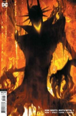 Dark Nights Death Metal 7 (Of 7) Cover C Stanley Artgerm Lau Batman Who Laughs Variant
