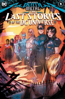 Dark Nights Death Metal The Last Stories Of The Dc Universe 1 (One Shot) Cover A Tula Lotay