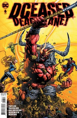 Dceased Dead Planet 6 (Of 7) Cover A David Finch